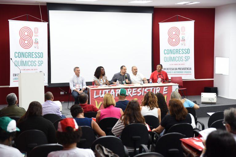 Químicos realizam congresso e definem plano de lutas